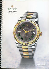 Rolex, 2009 large official general catalogue (ITALIAN)