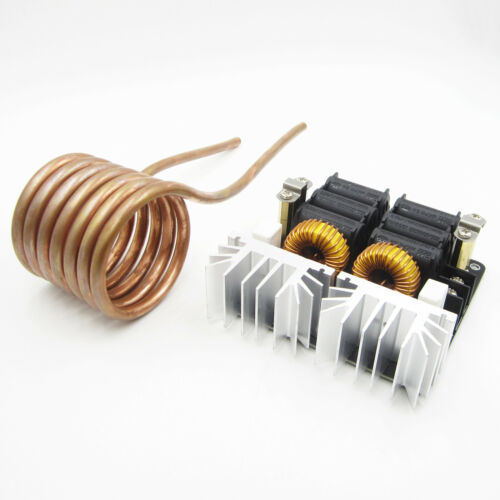 New 20A 1000W ZVS Low Voltage Induction Heating Board Driver Heater Module