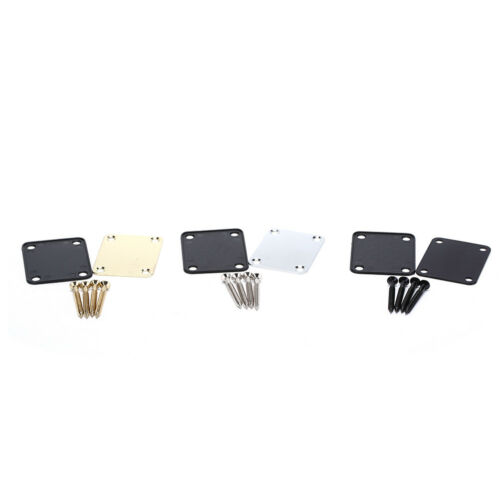 Electric Guitar Neck Plate Neck Plate Fix Guitar Neck Joint Board 3 colors ZP