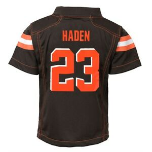 Details about Joe Haden Cleveland Browns Nike Home Brown Jersey Boys (S-L)