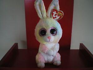 3897efbd76e Ty Beanie Boos BUBBY rabbit 6 inch NWMT. NEW RELEASE EASTER BEANIE ...