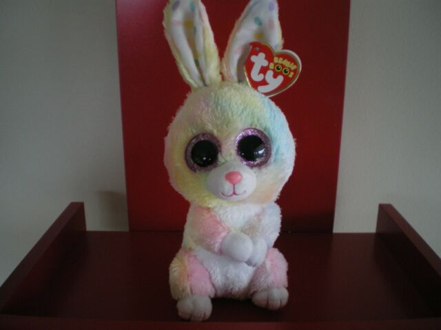 e31a0653a4d Ty Beanie Boos BUBBY rabbit 6 inch NWMT. NEW RELEASE EASTER BEANIE BOO.