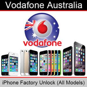 Details about Vodafone Australia iPhone Factory Unlock Service (All Models)