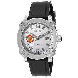 Bulova 63B195 Men's Accu-Swiss Percheron Silver-Tone Automatic Watch 42429518780