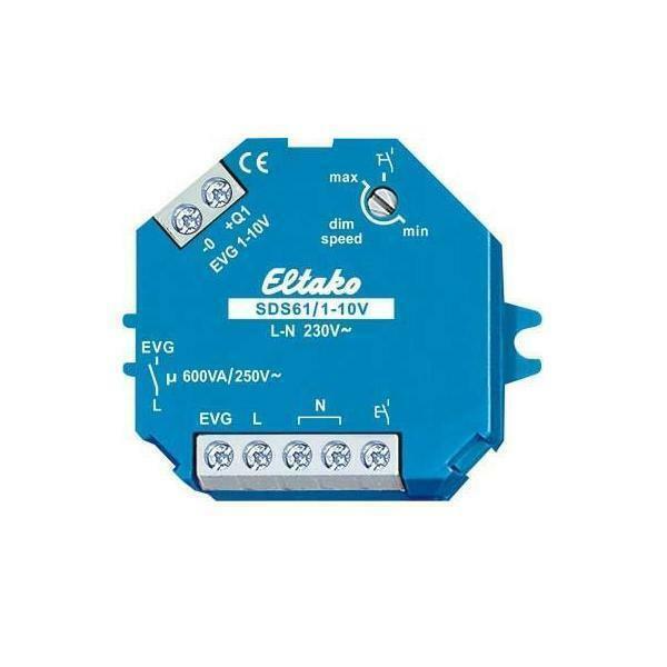 Eltako Steuerdimmschalter SDS61 1-10V blau Dimmer 61100800 Kunststoff | Reparieren