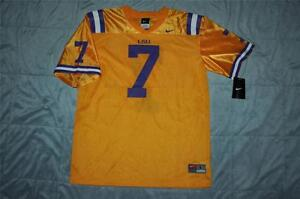 Image is loading Nike-LSU-Tigers-7-Football-Jersey-Youth-Large- 7aa5a0a59