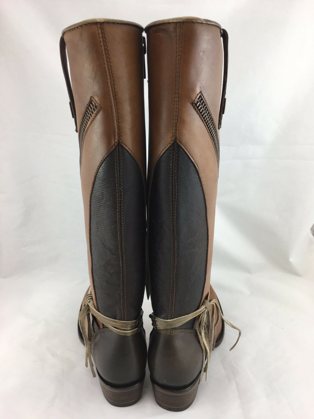 e05380e67 ... Cuadra femmes 7.5 US Crust Wax Nuez Nuez Nuez Tall Leather bottes  1X50CS marron New d9e484 ...