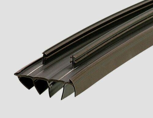 """67967 M-D Building BROWN 36/"""" VINYL DOOR BOTTOM Kerf Style Replacement Seal Strip"""