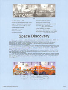 9829-32c-Space-Discovery-Stamps-3238-42-Souvenir-Page