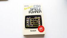 Rombachs C64 Spieleführer Taschenbuch 1.Teil C-64 Commodore 64 Rarität Sammlung