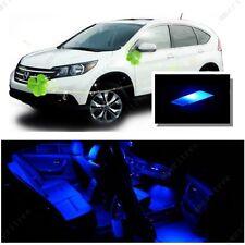 For Honda CRV 2007 - 2012 Blue LED Interior Kit + Blue License Light LED
