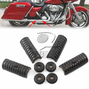 Rubber Support Cushion Hard Saddlebags fit For Harley Touring Road King Glide
