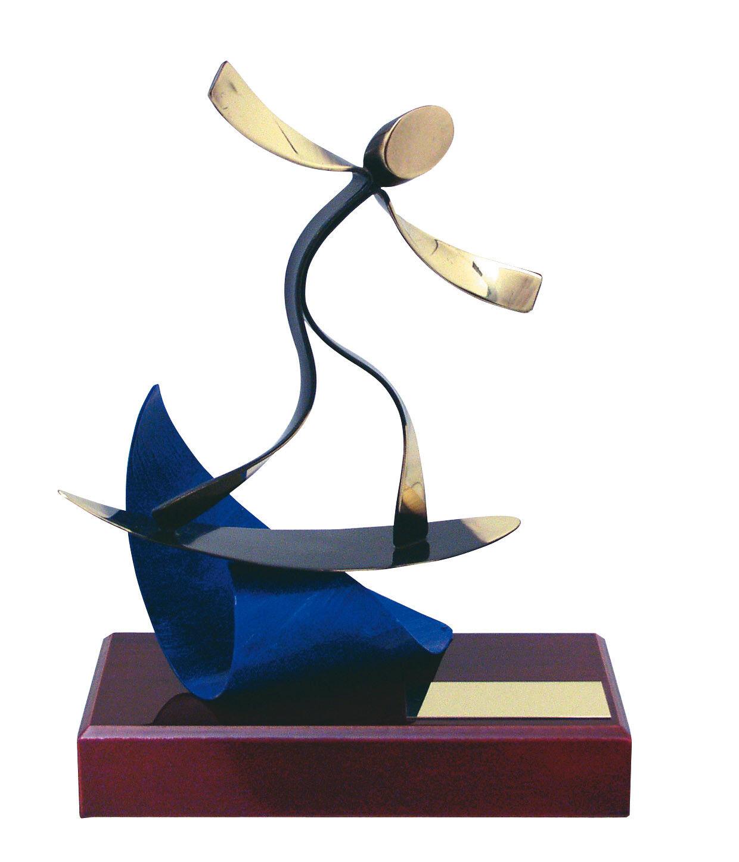 Hecho a mano toda de metal Regalo Surfing  trofeo Calidad súperior  envío Gratis Grabado Gratis  mejor precio