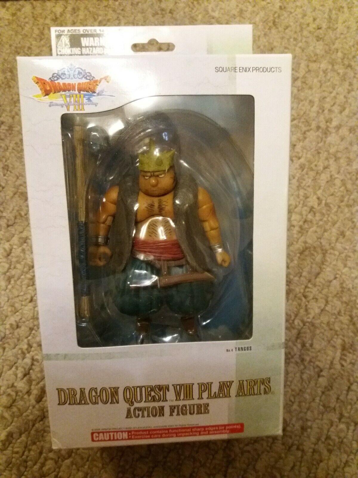 Dragon Quest Play Arts No4 Yangus Complete Boxed action figure