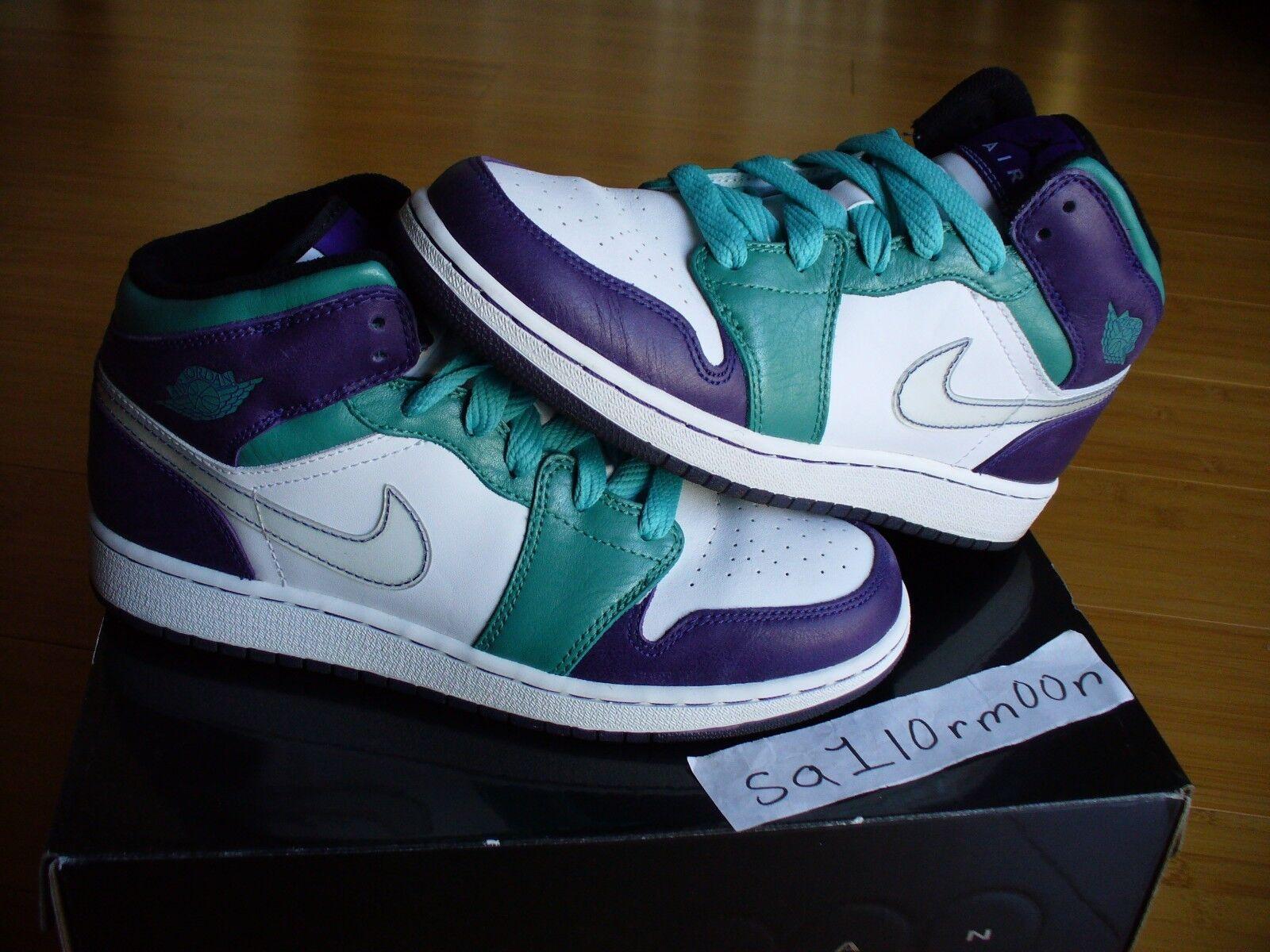 Nike air jordan emerald 1 sz 7 y zement xi - tiff - raum dunk schnell zuschlagen