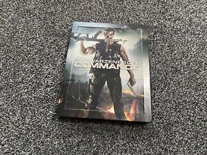 Commando Zavvi Exclusive UK Blu-ray Steelbook