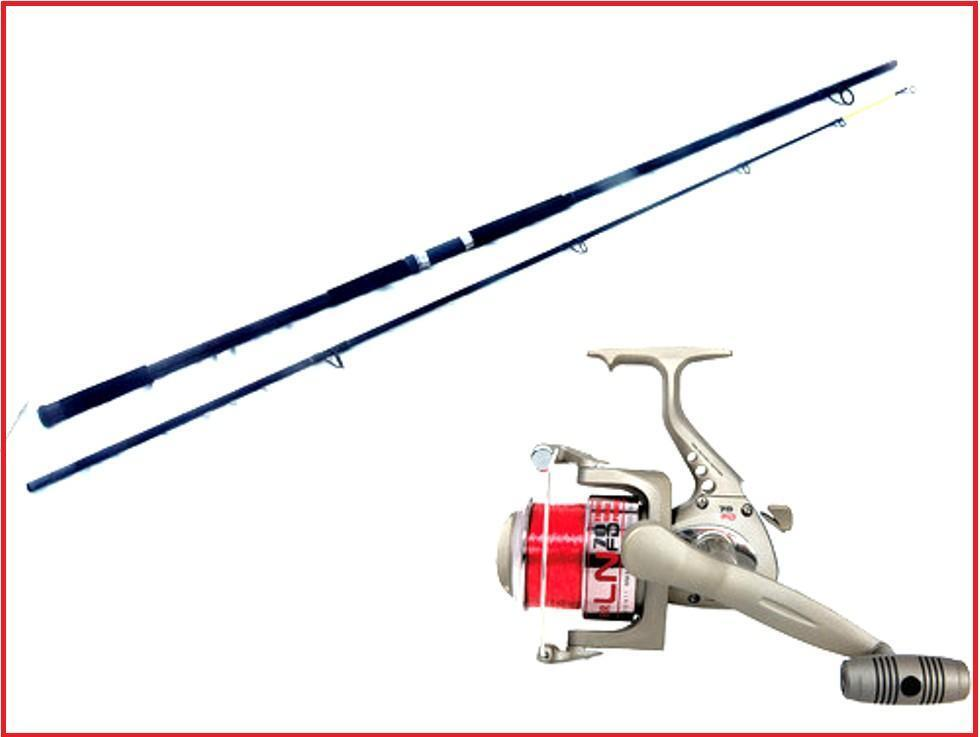 Surfmaster 12ft Fishing Beachcaster   Beach Rod & LN70 Reel + line