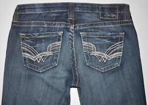 X Flare Blue Størrelse 33 1 Jeans Boot Long Star Medium Women's 28l 4 Big Cut Awesome TxYvAWq