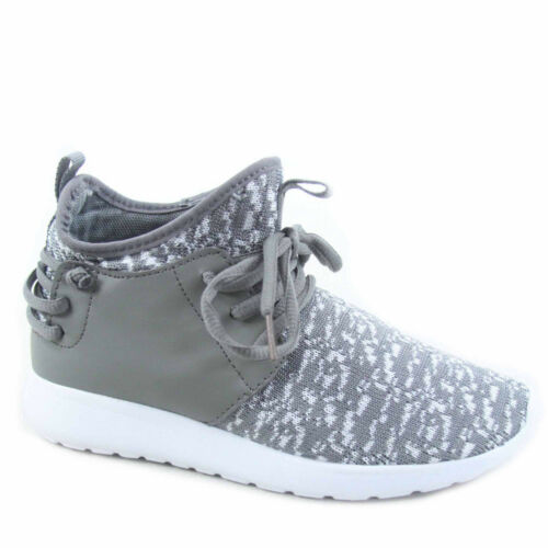 Youth Girl/'s Kid/'s Lace Slip On Flat Sneakers Casual Sport Shoes Size 9-4 NEW