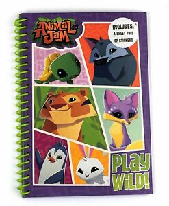 A5 Ordinateur Portable Doublure Pages Pad Papier Dos Imprimé Bloc-notes Animal Jam 							 							</span>