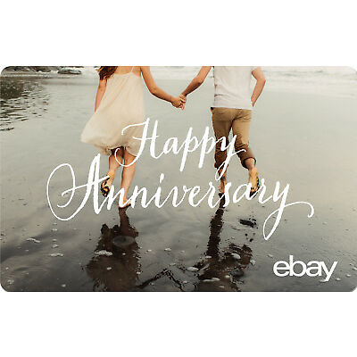eBay eGift Card - Happy Anniversary $25 $50 $100 or $200 - Email Delivery