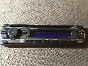 SONY CDX-GT250MP FACEPLATE ONLY GENUINE