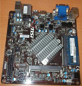 MSI J1800I Driver for Windows 7