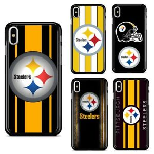 hot sale online 3e5aa 3bb29 Details about Pittsburgh Steelers NFL Football Case Cover for iPhone 7 8  Plus X XR XS MAX