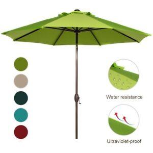Coral Coast 9 Sunbrella Commercial Grade Aluminum Wind Resistant