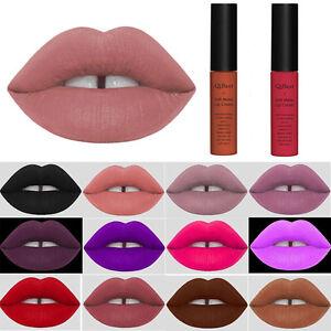 Soft-Waterproof-Pencil-Matte-Lip-Gloss-Cream-Liquid-Lipstick-Long-Lasting-Makeup