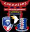 RAKKASANS 187TH INFANTRY REGIMENT*101ST AIRBORNE* VINYL LIGHTWEIGHT POLO SHIRT