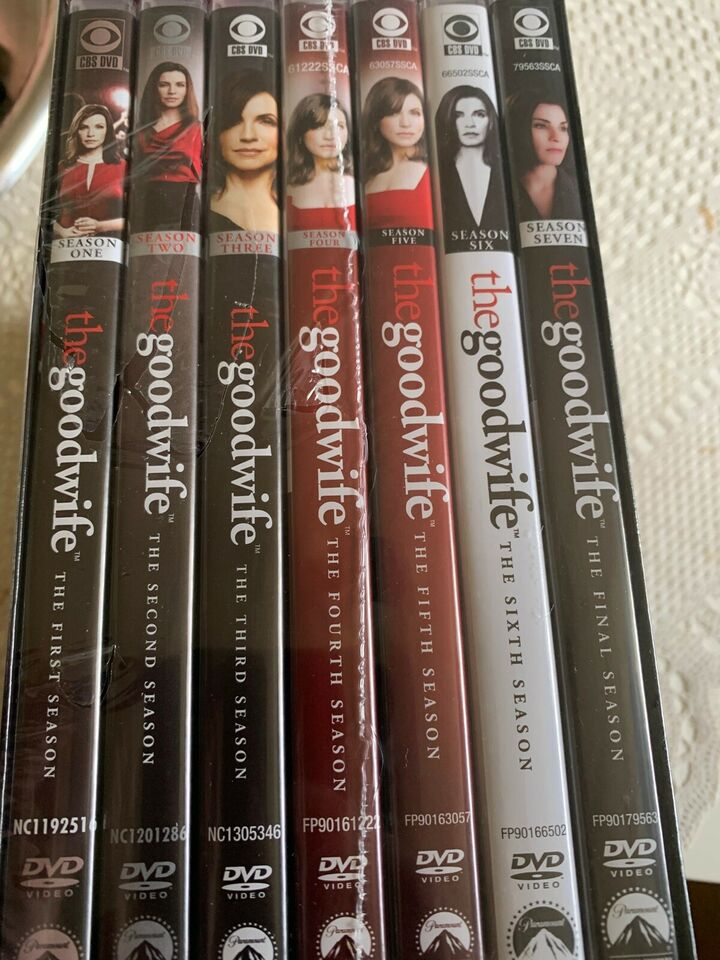 The Good wife komplet, DVD, TV-serier