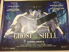 GHOST IN THE SHELL Original Cinema Quad Poster. Manga Classic