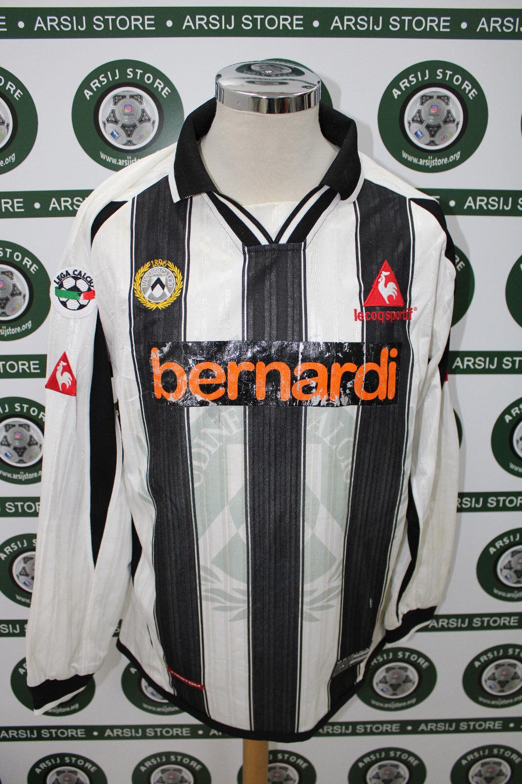 Maglia calcio shirt maillot camiseta trikot UDINESE PIERI MATCH WORN