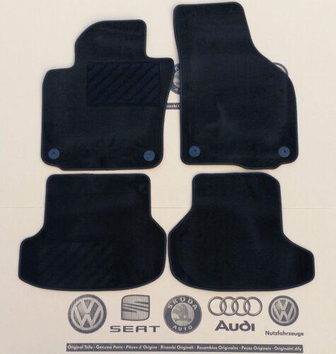 Vw t-Roc original tapices delante atrás gamuza esteras de tela esteras ALFOMBRILLAS COCHE