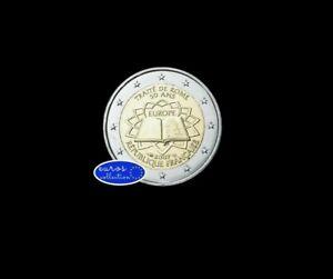 Pièce 2 euros commémorative 2007 France - 50 ans du traité de Rome
