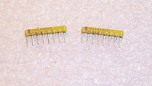 50 pieces Resistor Networks /& Arrays 1K 8Pin Isolated