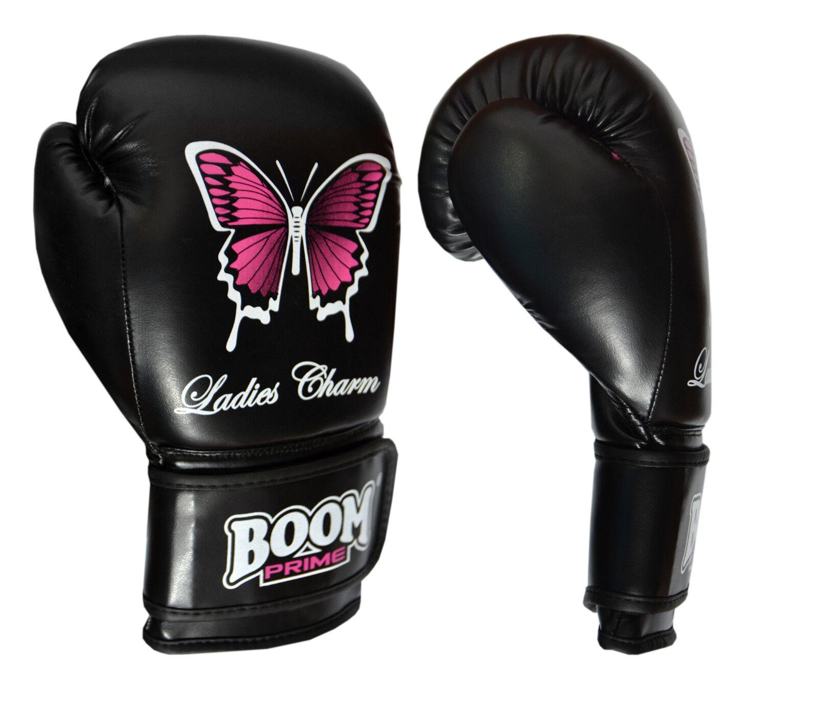 femmes rose Gants de boxe sac femmes femmes femmes Gym Tampons de Pied MMA Moufles Muay Thai a99362