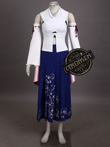 Final Fantasy X 10 Yuna Summoned Deluxe Cosplay Costume Cosonsen All Sizes