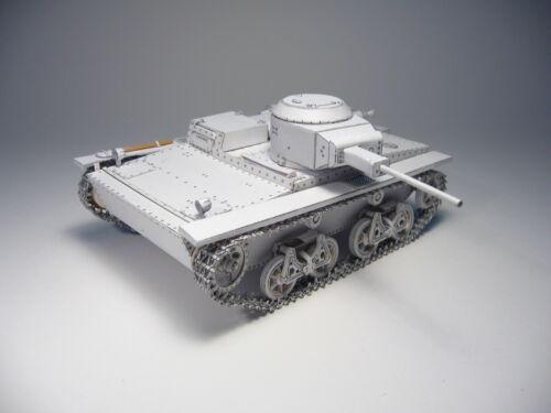 Schwimmpanzer T-38   1:25  mit Lasercutteilen   Modelik 27//07