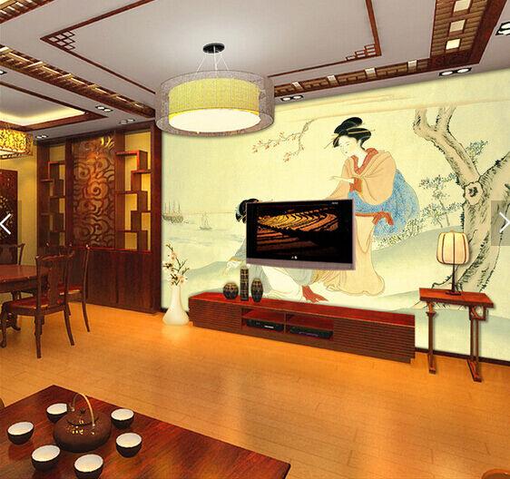 3D Klassische Schönheit 65 Fototapeten Wandbild Fototapete BildTapete Familie DE