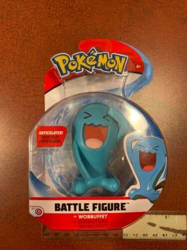 Pokemon Wobbuffet Battle Figure articulée 2018 Wicked Cool NEUF livraison gratuite
