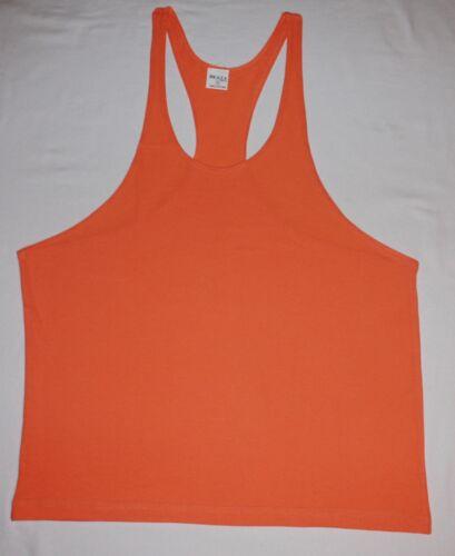 Gym Bodybuilding Tank Top Workout Muscle Stringer Singlet Racer Back  Y Back