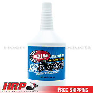 Details about Red Line 12304 5w30 Synthetic/Euro-Series Motor Oil - 1 Quart