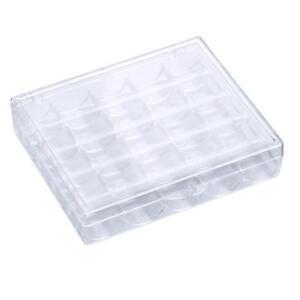 Sturdy-Clear-Bobbin-Box-Case-Sewing-Machine-Organizer-Storage-Box-25-Grids-shan
