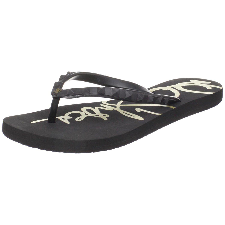 Women DC Shoes Vista Flip Flop Sandal 303053 New Black 100% Original Brand New 303053 f40c6c