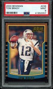 2000-Bowman-236-TOM-BRADY-RC-Rookie-Patriots-Bucs-PSA-9-MINT