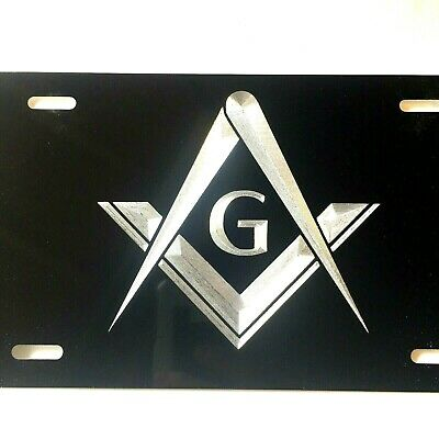 JEEP Logo Car Tag Diamond Etched on Aluminum License Plate
