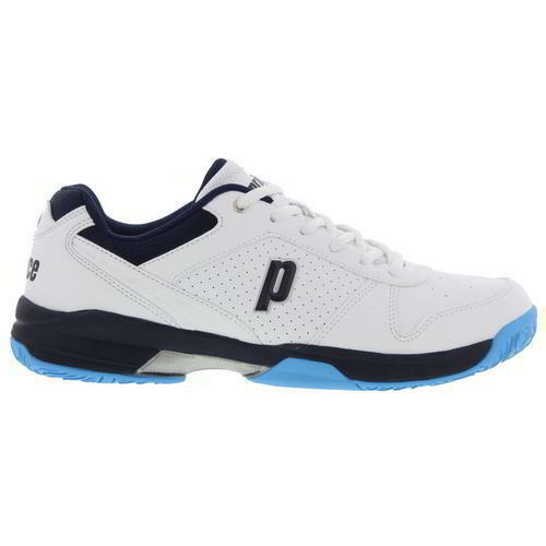 Prince Advantage Mens White All Court Tennis shoes Trainers Size