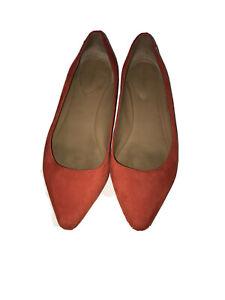 Calvin Klein Elle Red Flats size
